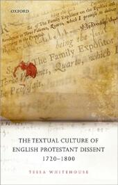 Textual Culture of English Protestant Dissent 1720-1800