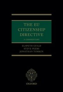 Ebook in inglese EU Citizenship Directive: A Commentary Guild, Elspeth , Peers, Steve , Tomkin, Jonathan