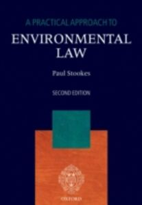 Ebook in inglese Practical Approach to Environmental Law Stookes, Paul