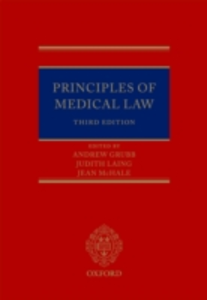 Ebook in inglese Principles of Medical Law -, -