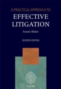 Ebook in inglese Practical Approach to Effective Litigation Blake, Susan