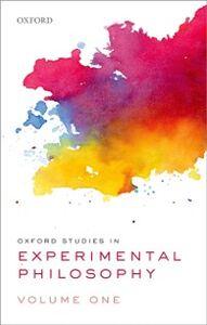Ebook in inglese Oxford Studies in Experimental Philosophy, Volume 1