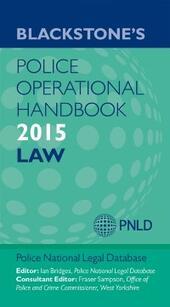 Blackstone's Police Operational Handbook 2015
