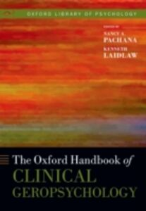 Ebook in inglese Oxford Handbook of Clinical Geropsychology -, -