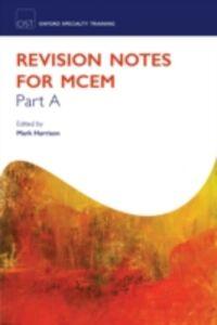 Foto Cover di Revision Notes for MCEM Part A, Ebook inglese di  edito da OUP Oxford