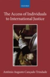 Access of Individuals to International Justice