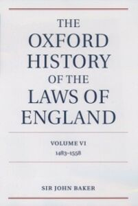 Foto Cover di Oxford History of the Laws of England Volume VI: 1483-1558, Ebook inglese di John Baker, edito da OUP Oxford