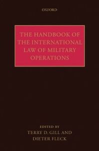 Foto Cover di Handbook of the International Law of Military Operations, Ebook inglese di  edito da OUP Oxford