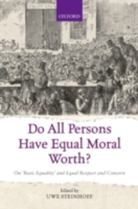 Ebook in inglese Do All Persons Have Equal Moral Worth?: On Basic Equality and Equal Respect and Concern -, -