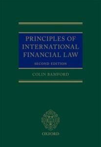 Ebook in inglese Principles of International Financial Law Bamford, Colin