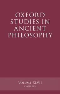 Foto Cover di Oxford Studies in Ancient Philosophy, Volume 47, Ebook inglese di  edito da OUP Oxford