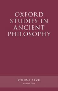 Ebook in inglese Oxford Studies in Ancient Philosophy, Volume 47 -, -