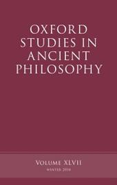 Oxford Studies in Ancient Philosophy, Volume 47