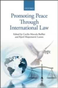 Ebook in inglese Promoting Peace Through International Law