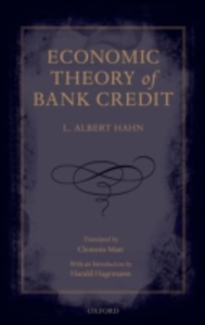 Ebook in inglese Economic Theory of Bank Credit Hahn, L. Albert