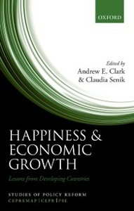 Ebook in inglese Happiness and Economic Growth: Lessons from Developing Countries -, -