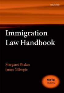 Ebook in inglese Immigration Law Handbook Gillespie, James , Phelan, Margaret