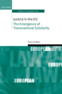Ebook in inglese Justice in the EU: The Emergence of Transnational Solidarity de Witte, Floris