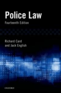 Ebook in inglese Police Law Card, Richard , English, Jack