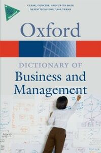 Foto Cover di Dictionary of Business and Management, Ebook inglese di Jonathan Law, edito da OUP Oxford
