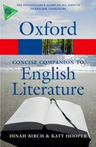 Ebook in inglese Concise Oxford Companion to English Literature -, -