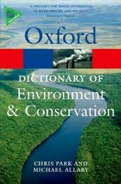 Dictionary of Environment and Conservation