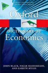 Ebook in inglese Dictionary of Economics -, -