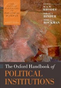 Ebook in inglese Oxford Handbook of Political Institutions Binder, Sarah A. , Rhodes, R. A. W. , Rockman, Bert A.