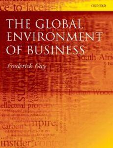 Foto Cover di Global Environment of Business, Ebook inglese di Frederick Guy, edito da OUP Oxford