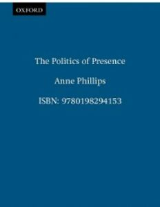 Ebook in inglese Politics of Presence Phillips, Anne