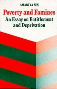 Ebook in inglese Poverty and Famines: An Essay on Entitlement and Deprivation Sen, Amartya