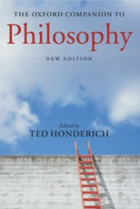 Ebook in inglese Oxford Companion to Philosophy -, -