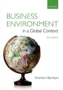 Ebook in inglese Business Environment in a Global Context Harrison, Andrew