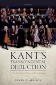 Ebook in inglese Kant's Transcendental Deduction: An Analytical-Historical Commentary Allison, Henry E.