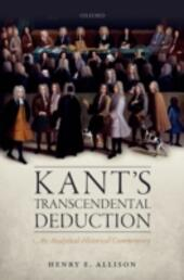 Kant's Transcendental Deduction: An Analytical-Historical Commentary