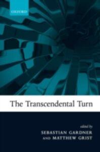 Ebook in inglese Transcendental Turn -, -