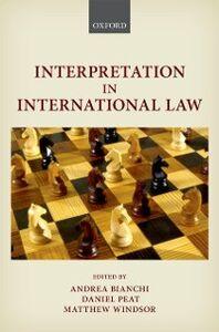 Foto Cover di Interpretation in International Law, Ebook inglese di  edito da OUP Oxford