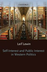 Ebook in inglese Self Interest and Public Interest in Western Politics Bronte, Anne