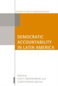 Foto Cover di Democratic Accountability in Latin America, Ebook inglese di  edito da OUP Oxford