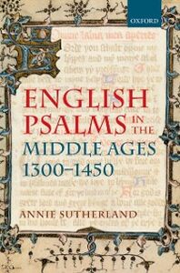 Ebook in inglese English Psalms in the Middle Ages, 1300-1450 Sutherland, Annie