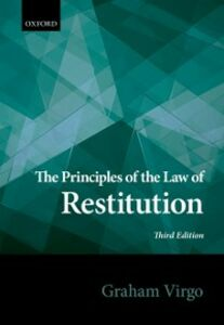Ebook in inglese Principles of the Law of Restitution Virgo, Graham