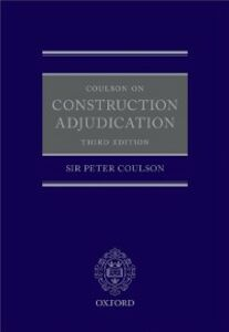 Ebook in inglese Coulson on Construction Adjudication Coulson QC, Peter