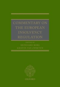 Ebook in inglese Commentary on the European Insolvency Regulation -, -