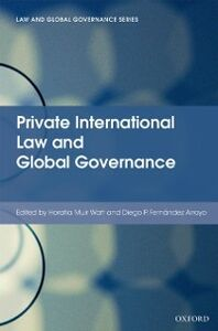 Foto Cover di Private International Law and Global Governance, Ebook inglese di  edito da OUP Oxford