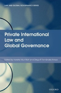 Ebook in inglese Private International Law and Global Governance -, -