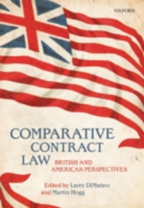 Ebook in inglese Comparative Contract Law: British and American Perspectives -, -