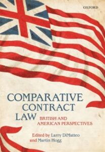 Ebook in inglese Comparative Contract Law: British and American Perspectives