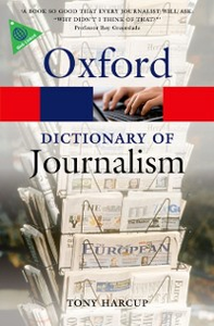 Ebook in inglese Dictionary of Journalism Harcup, Tony