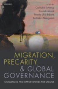 Ebook in inglese Migration, Precarity, and Global Governance: Challenges and Opportunities for Labour