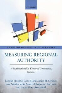 Foto Cover di Measuring Regional Authority: A Postfunctionalist Theory of Governance, Volume I, Ebook inglese di AA.VV edito da OUP Oxford